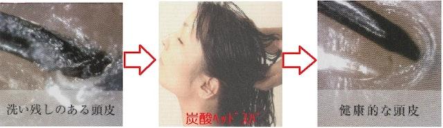炭酸ヘッドスパ(シャンプー・ブロー別)